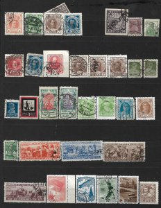 COLLECTION LOT OF # 799 RUSSIA 34 STAMPS 1913+ CLEARANCE CV + $29