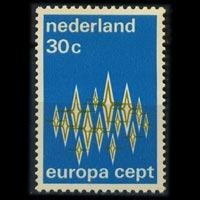NETHERLANDS 1972 - Scott# 494 Europa 30c NH