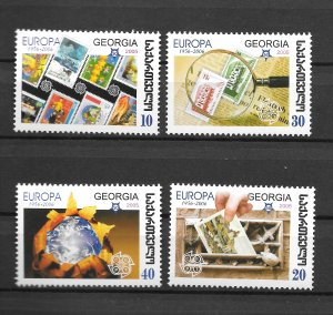Georgia MNH 390-3 Europa Stamps On Stamps 2006 SCV 3.75