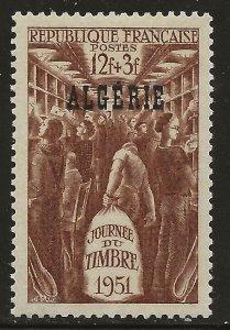 Algeria (1951)  - Scott # B53,   MNH
