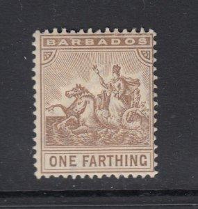 Barbados, Sc 91 (SG 163), MHR