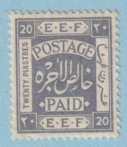 PALESTINE 14  MINT HINGED OG * NO FAULTS EXTRA FINE !