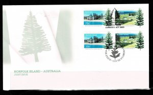 Norfolk Island 2014 Joint Issue with Australia FDC