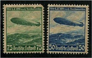 HERRICKSTAMP GERMANY Sc.# C57-58 Airmail Mint NH