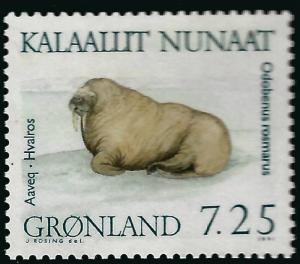 Beautiful Greenland #236 MNH VF...Kalaallit is Hot now!