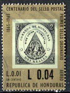 Honduras; 1966: Sc. # C387: O/Used Single Stamp