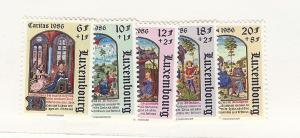 Luxembourg, B357-61, Various Designs Singles, MNH