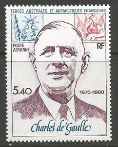 FSAT/TAAF DE GAULLE C60 MNH Y943