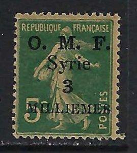 SYRIA 27 MOG Z5622
