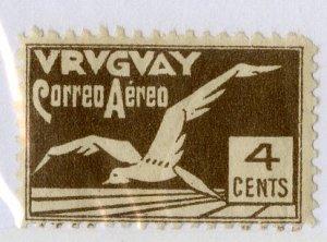 URUGUAY C26 MH SCV $3.00 BIN $1.25