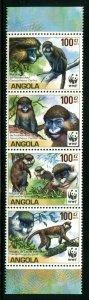 Angola Sc 1364 WWF Monkey Primate CV $9