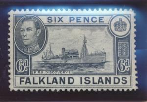 Falkland Islands Stamp Scott #89, Mint Lightly Hinged - Free U.S. Shipping, F...