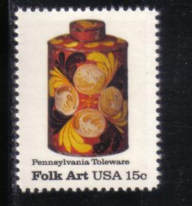 1776 - .15 Pennsylvania Toleware mnh f-vf.