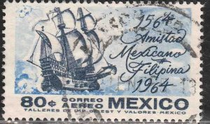 MEXICO C300, 80¢ 400Yrs of Mex-Philippine Relations USED. VF. (633)