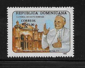 DOMINICAN REPUBLIC STAMP MNH #AGOP15