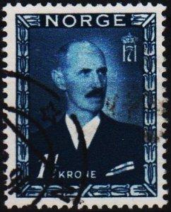 Norway. 1946 1 1/2k S.G.381 Fine Used