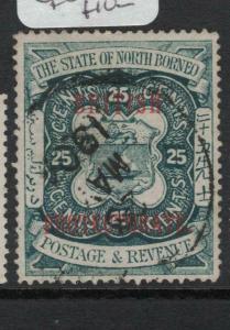 North Borneo SG 139 CDS VFU (10dvq)