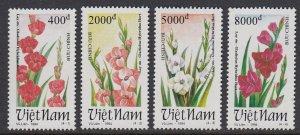 Vietnam 2512-5 Flowers mnh
