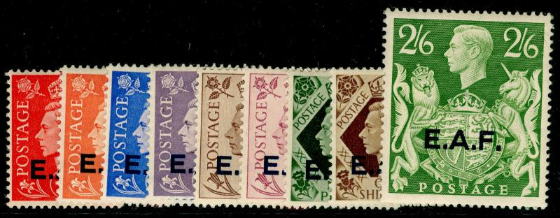 BRITISH OC OF ITALIAN COLONIES SGS1-59, COMPLETE SET, VLH MINT. Cat £50.