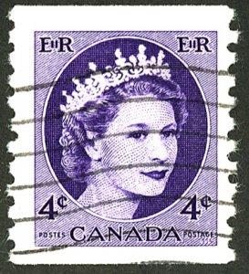 CANADA #347 USED