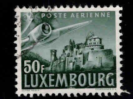 Luxembourg Scott C15 Used  airmail stamp