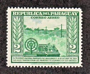 Paraguay Scott #C135 MH