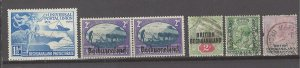 COLLECTION LOT # 3073 BECHUANALAND 6 STAMPS 1887+ CV+$10