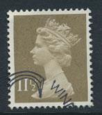 GB Machin 11½p  SG X893  Scott MH76 Used with FDC cancel  please read details