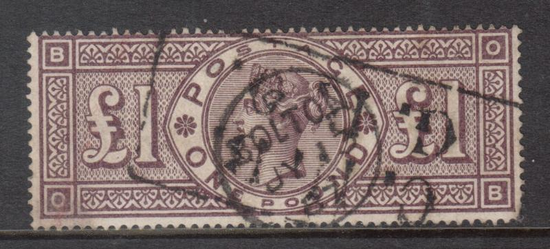 Great Britain #110 Used
