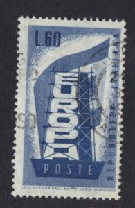 Italy  #716   used   1956   Europa 60 l