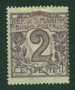 San Marino 1903 #40 U SCV (2020) = $12.00