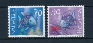 [42320] Switzerland 2001 Marine Life Fish MNH