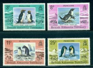 British Antarctic Territory #72-75  Mint VF NH  CV $23.50