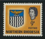 Northern Rhodesia  SG 81 SC# 81 MH - see details