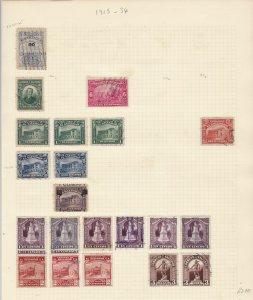 Salvador 1915-34  Stamps Ref 15548