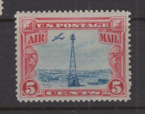 US 1928 Beacon on Rocky Mountains Stamp Scott C11 Nice Margins MNH