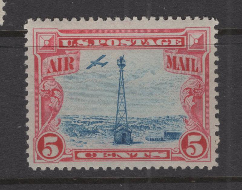 US 1928 Beacon on Rocky Mountains Stamp Scott C11 Nice Margins MNH