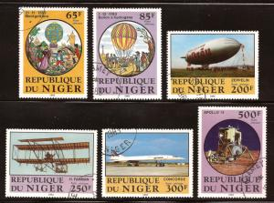 Niger  # C 318 - 23  used  CTO  A