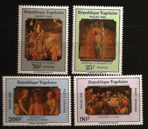 Togo #1389-1392 MNH CV$3.10