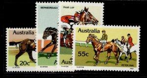 AUSTRALIA QEII SG699-702, 1978 race horses set, NH MINT.