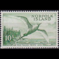 NORFOLK IS. 1961 - Scott# 41 Tropic Bird 10s NH