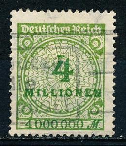 Germany #284 Single Used