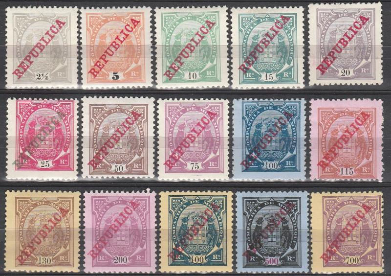 Mozambique Company #75B-89   F-VF Unused  CV $30.35  (A15075)