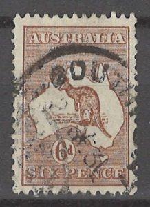COLLECTION LOT # 3017 AUSTRALIA #96 1929 CV=$22.50