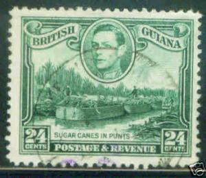 British Guiana 24c Scott 234a  CV$11