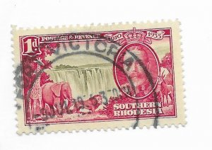 South Rhodesia #33 Used - Stamp - CAT VALUE $3.25