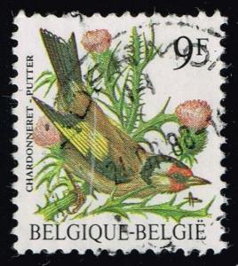 Belgium #1228 Chardonneret; Used (0.25)