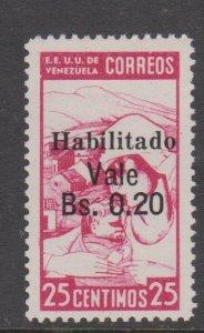 Venezuela Sc#384 MH