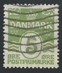 Denmark #90 5o Wavy Lines
