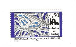 France, 2529, Chambery Cathedral Single, MNH